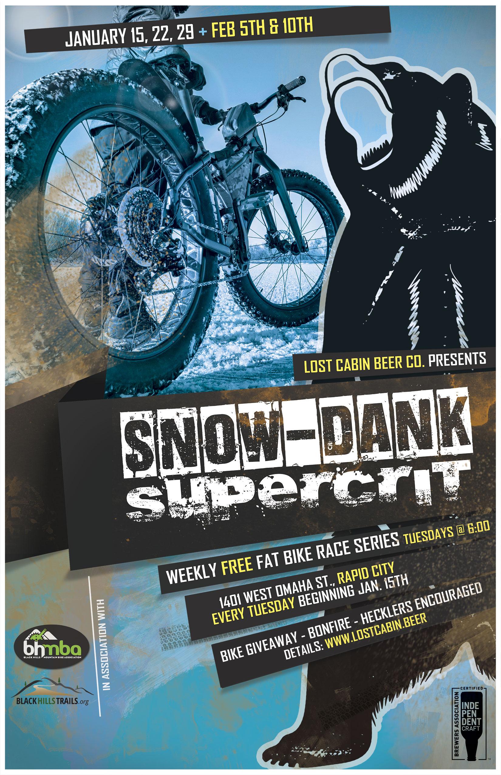 Snow-Dank Supercrit at Lost Cabin in Rapid City, South Dakota