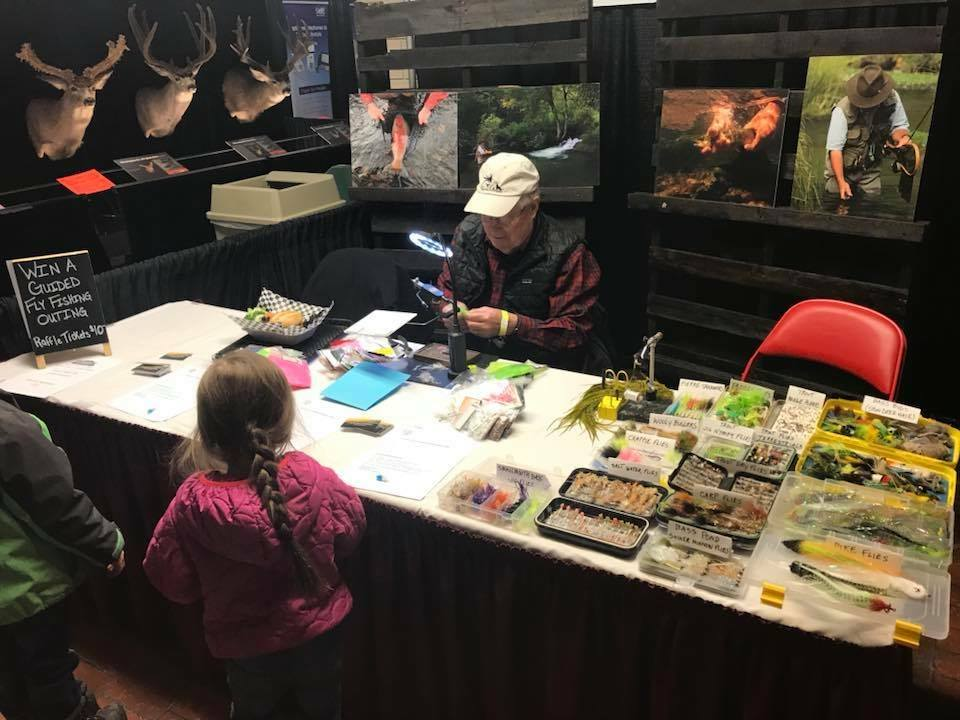 2nd Annual BHFF Fly Tying Competition at Lost Cabin in Rapid City, South Dakota