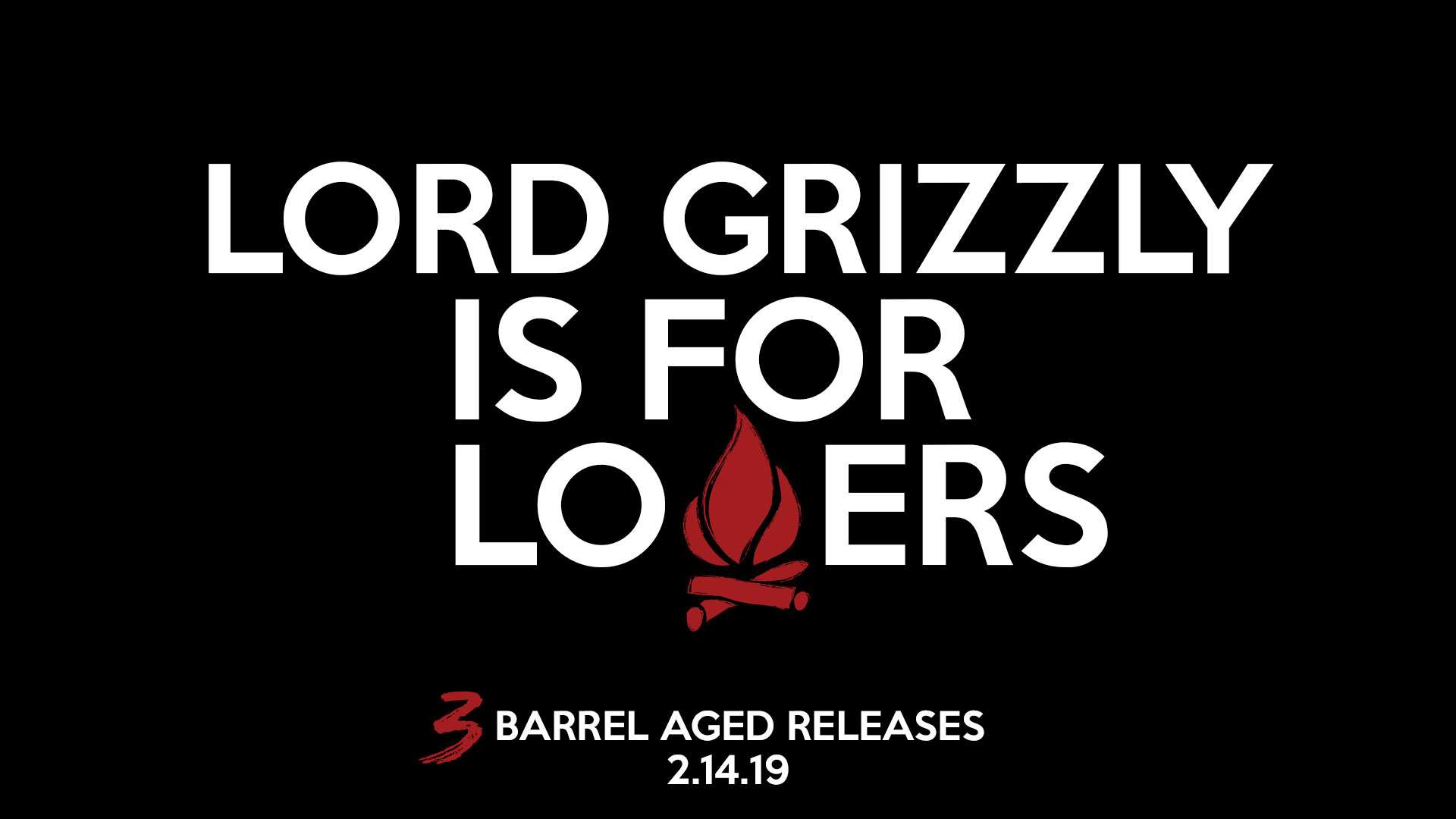 Lord Grizzly Day on Valentine's Day at Lost Cabin in Rapid City, South Dakota