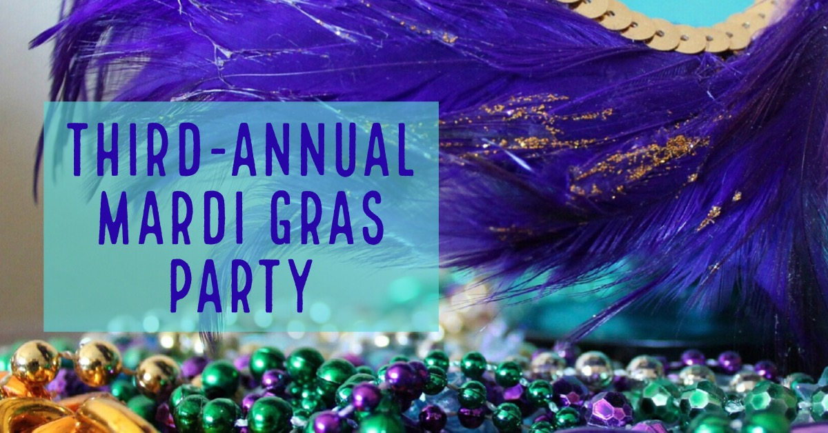 Third-Annual Mardi Gras Party at Lost Cabin in Rapid City, South Dakota