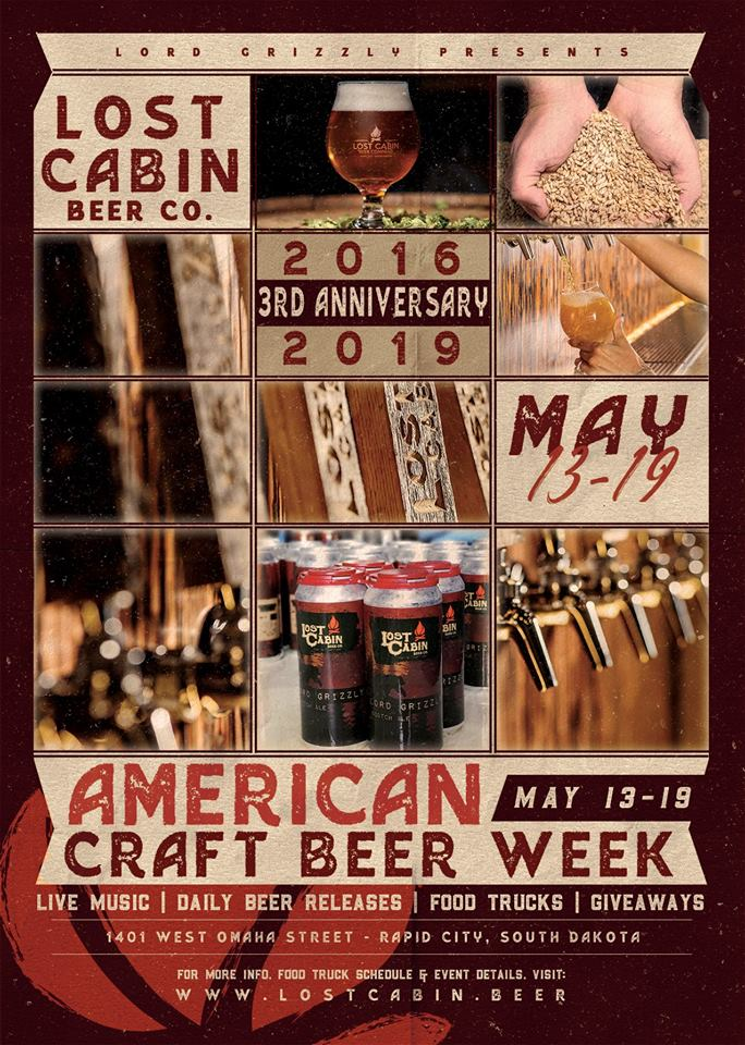 Lost Cabin Beer Co.'s 3rd anniversary party in Rapid City, SD