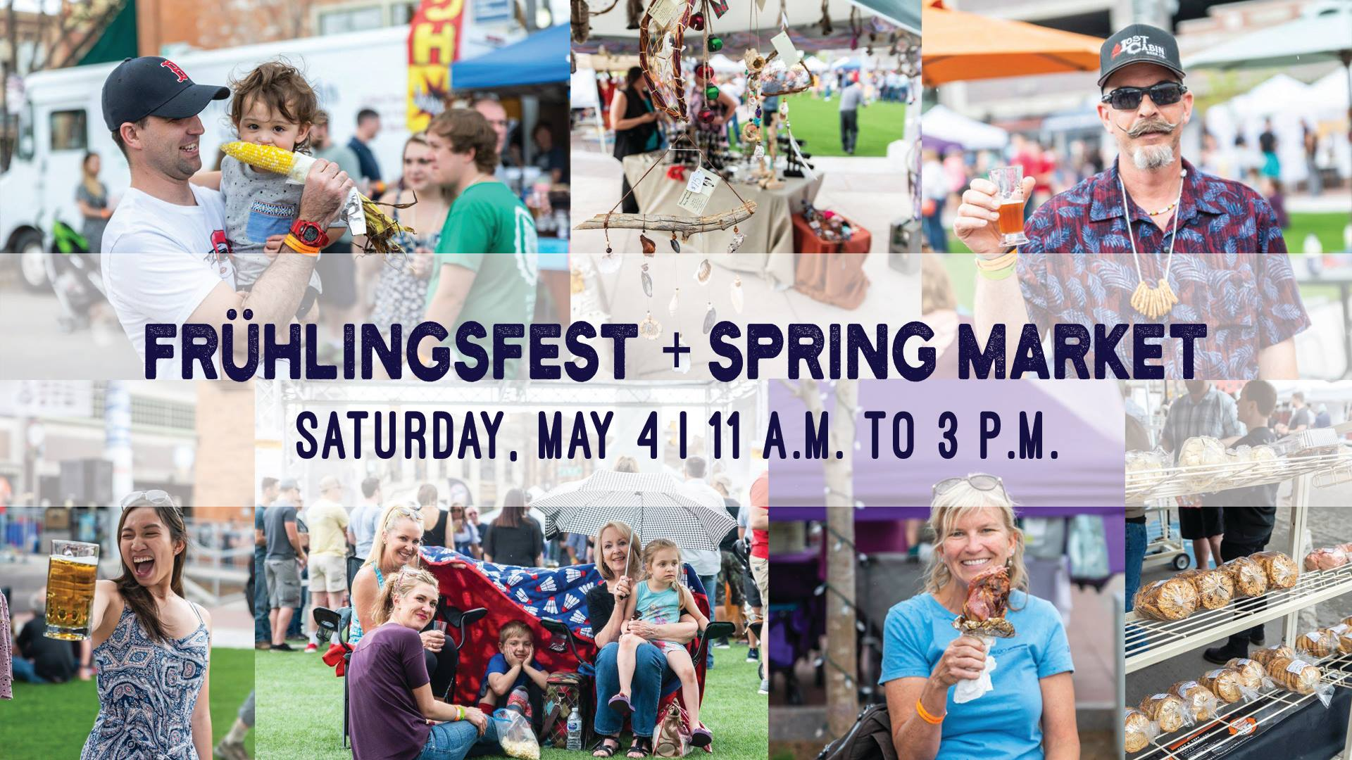 Frühlingsfest & Spring Market at Main Street Square in Rapid City, SD