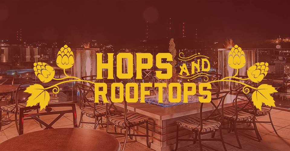 Hops & Rooftops at the vertex with Lost cabin in rapid city sd