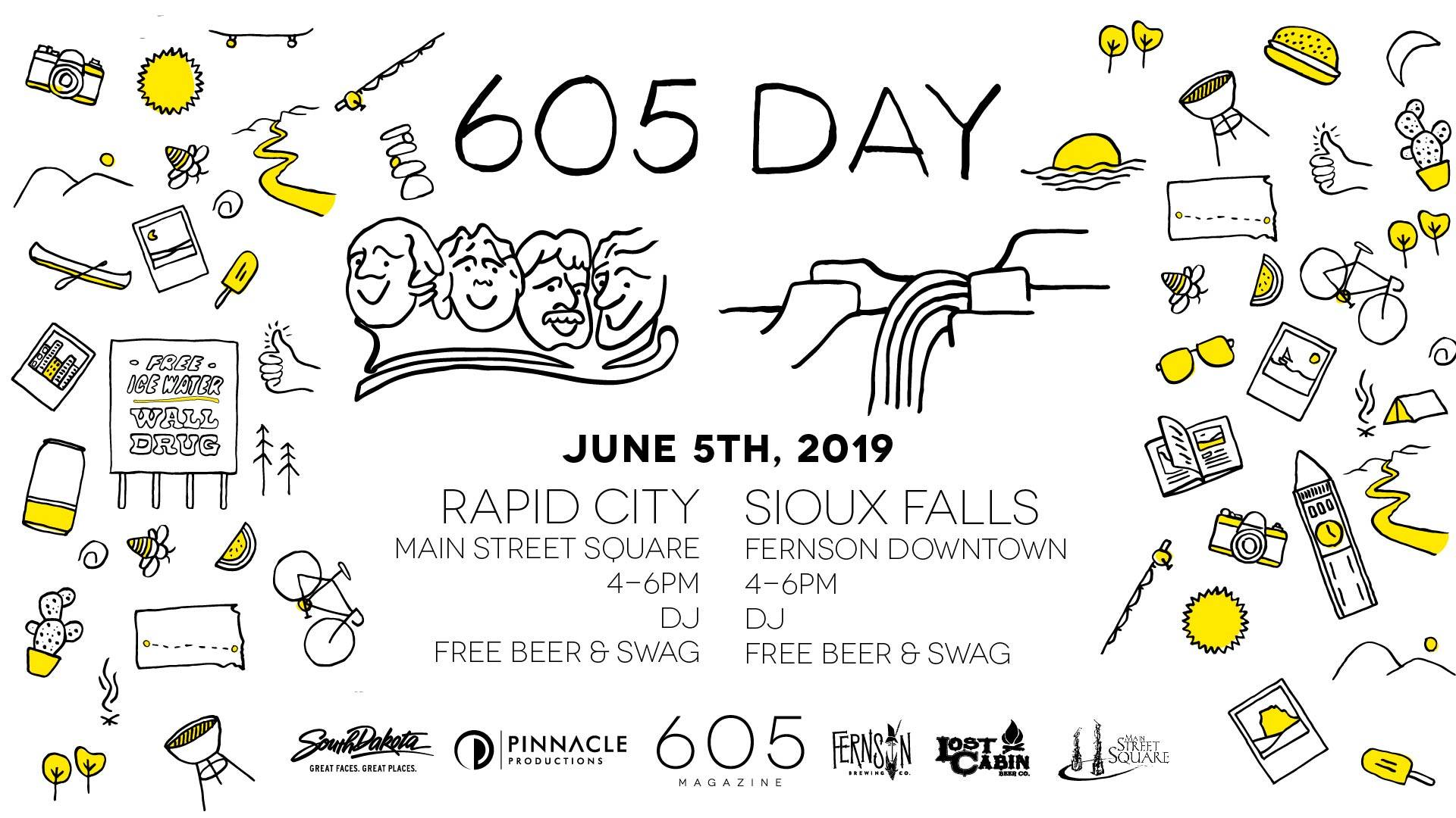 605 Day at Main Street Square in Rapid City, SD