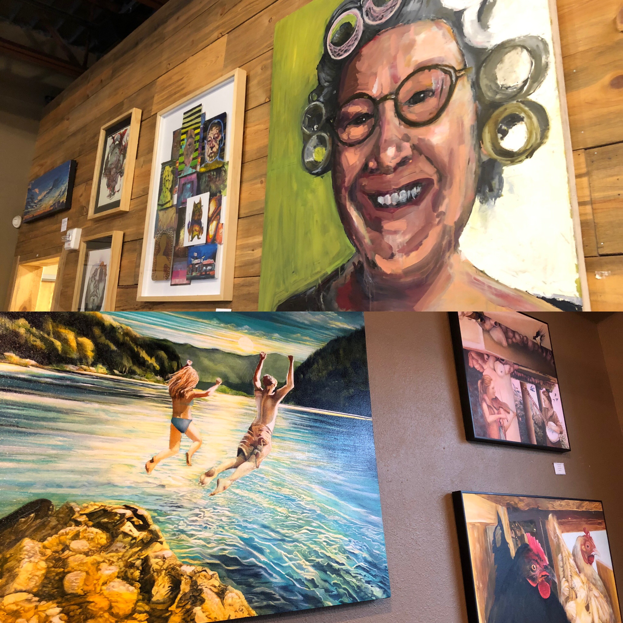 Artists Reception: Michael and Paula Knutson at Lost Cabin Beer Co. in Rapid City, SD