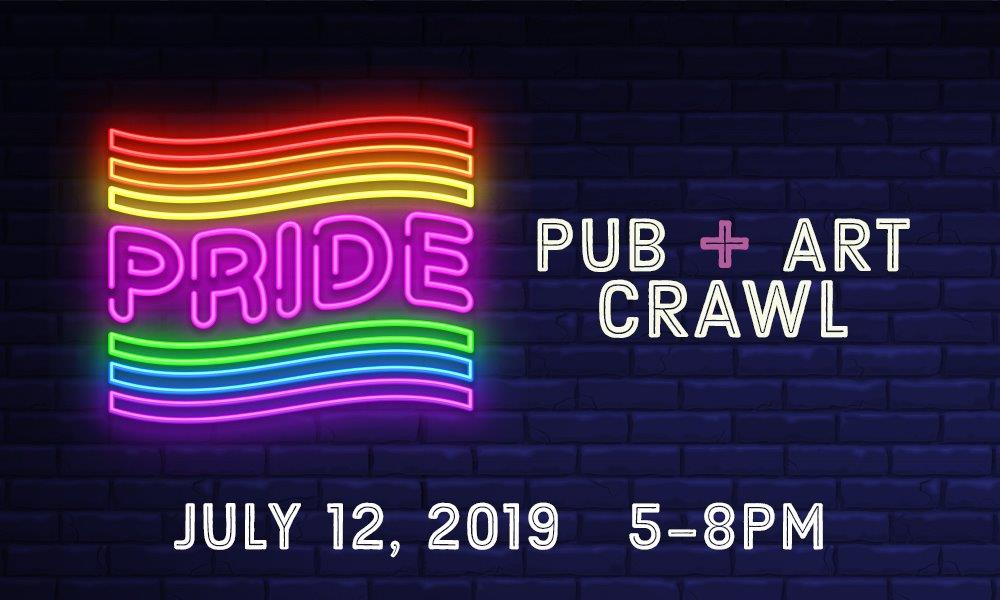 Black Hills Pride Pub/Art Crawl 2019 at Lost Cabin Beer Co. in Rapid City, SD