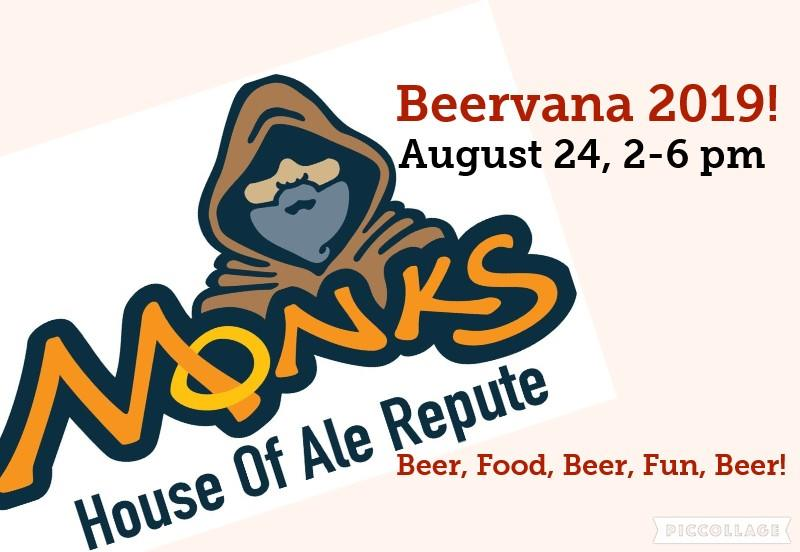 Beervana 2019 at Monk's House of Ale Repute in Sioux Falls, SD