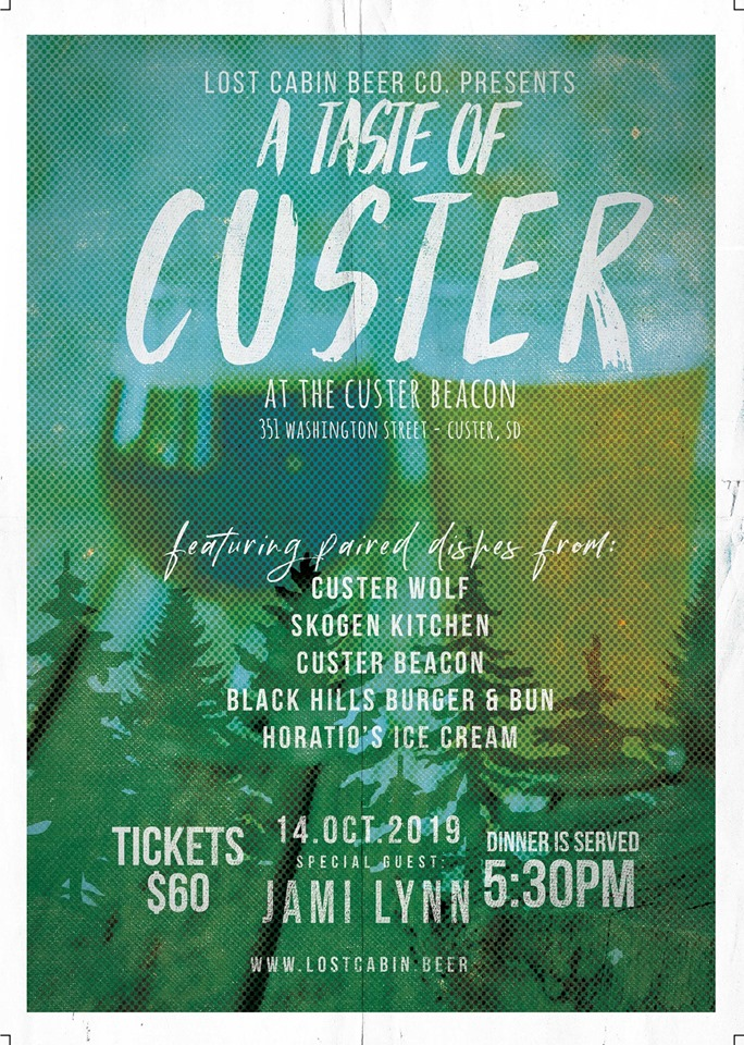 Taste of Custer hosted by the Custer Beacon and Lost Cabin in Custer, SD